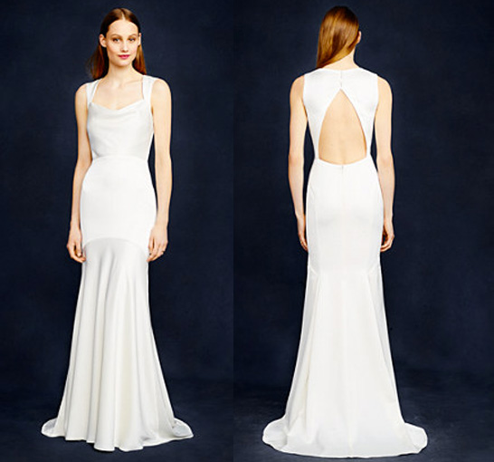 J. Crew Jillian gown, $695