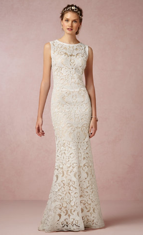 BHLDN Ines gown, $700