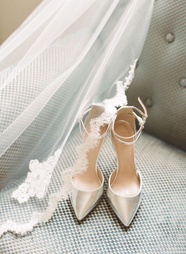 J. Crew pumps  by  Caroline Yoon  via  Style Me Pretty
