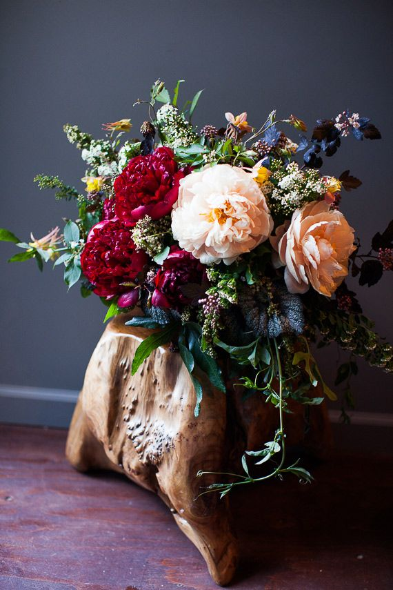 Twig & Twine floral s by  Ryan Haack  via  100 Layer Cake