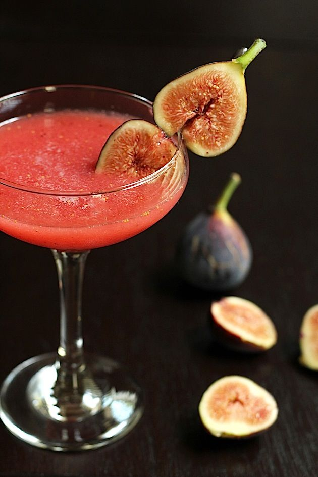 Fig & Honey Cocktail from Savor Home