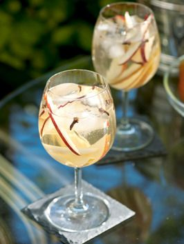 Autumn Champagne Sangria from Cooking Channel
