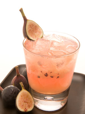 Fig Caipirinha from In Good Taste