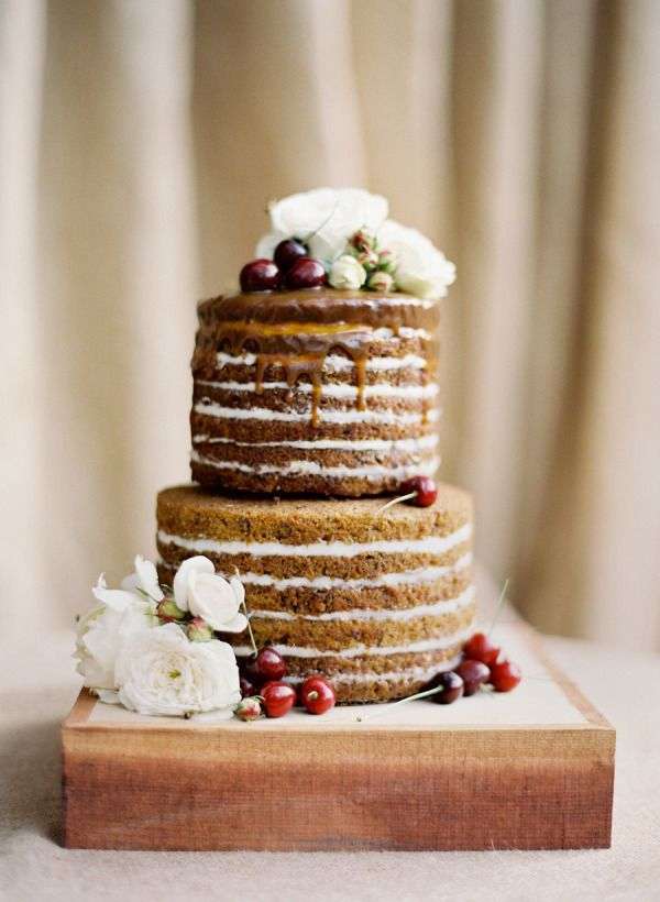 Cake by  The Scootabaker  from  Jose Villa  via  Style Me Pretty
