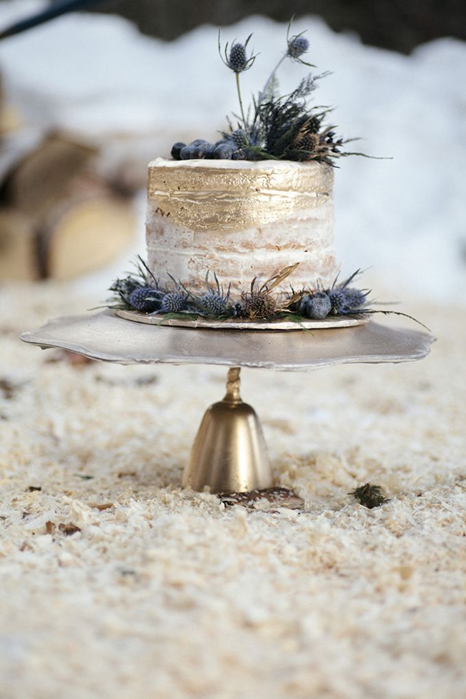 Cake photographed by  Michelle Larmand  via  Glamour & Grace