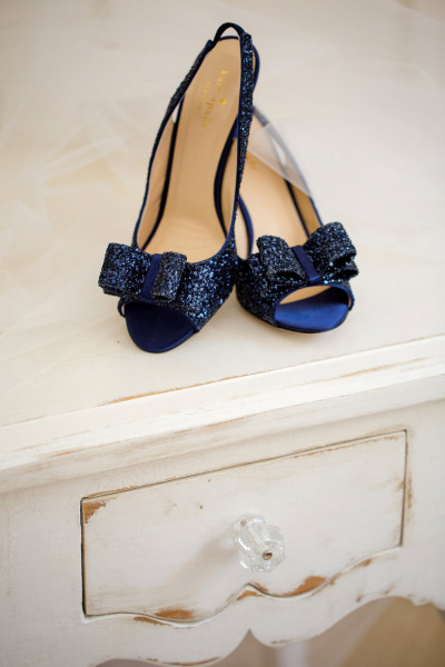 Kate Spade  heels from  Katelyn James  via  Style Me Pretty