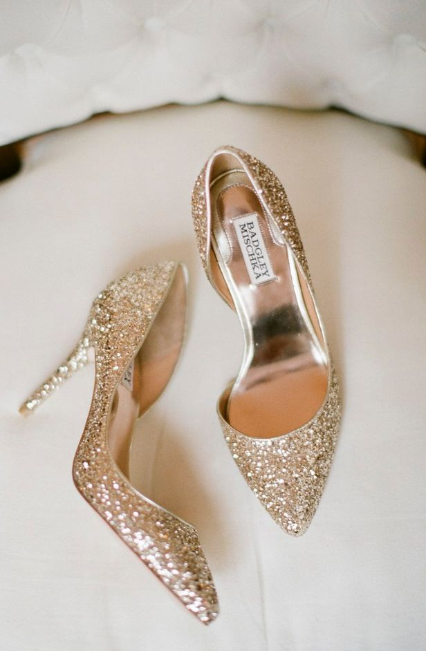Badgley Mischka  pumps by  Ashley Seawell