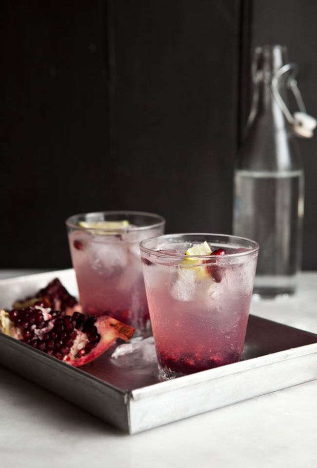 Pomegranate Ginger Spritzer