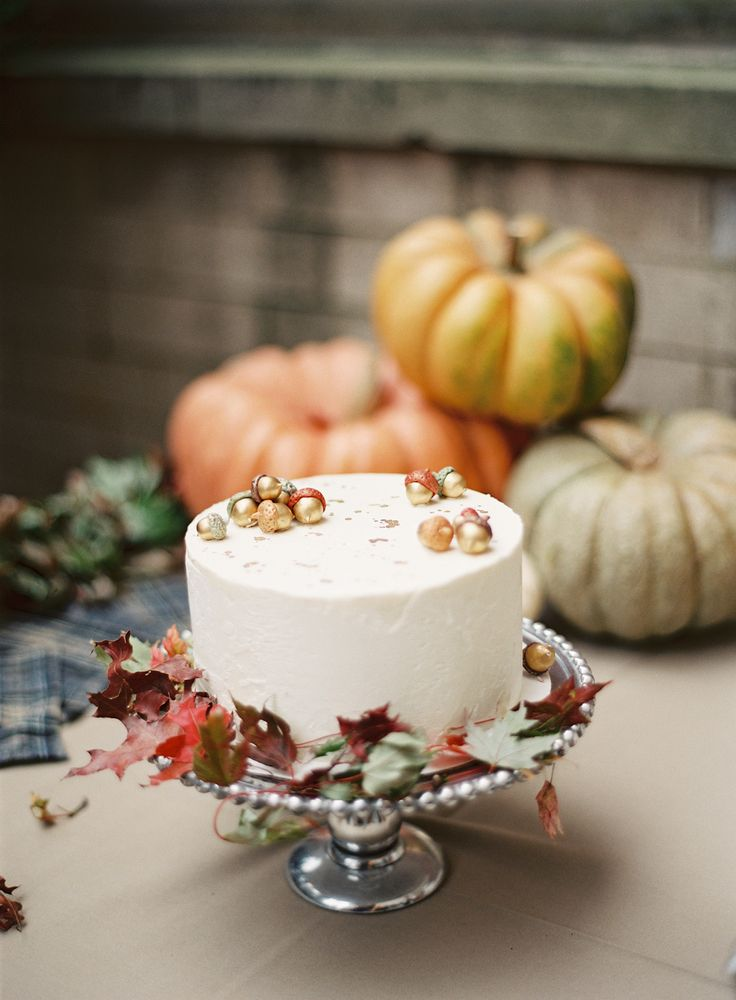 Glam Autumn cake