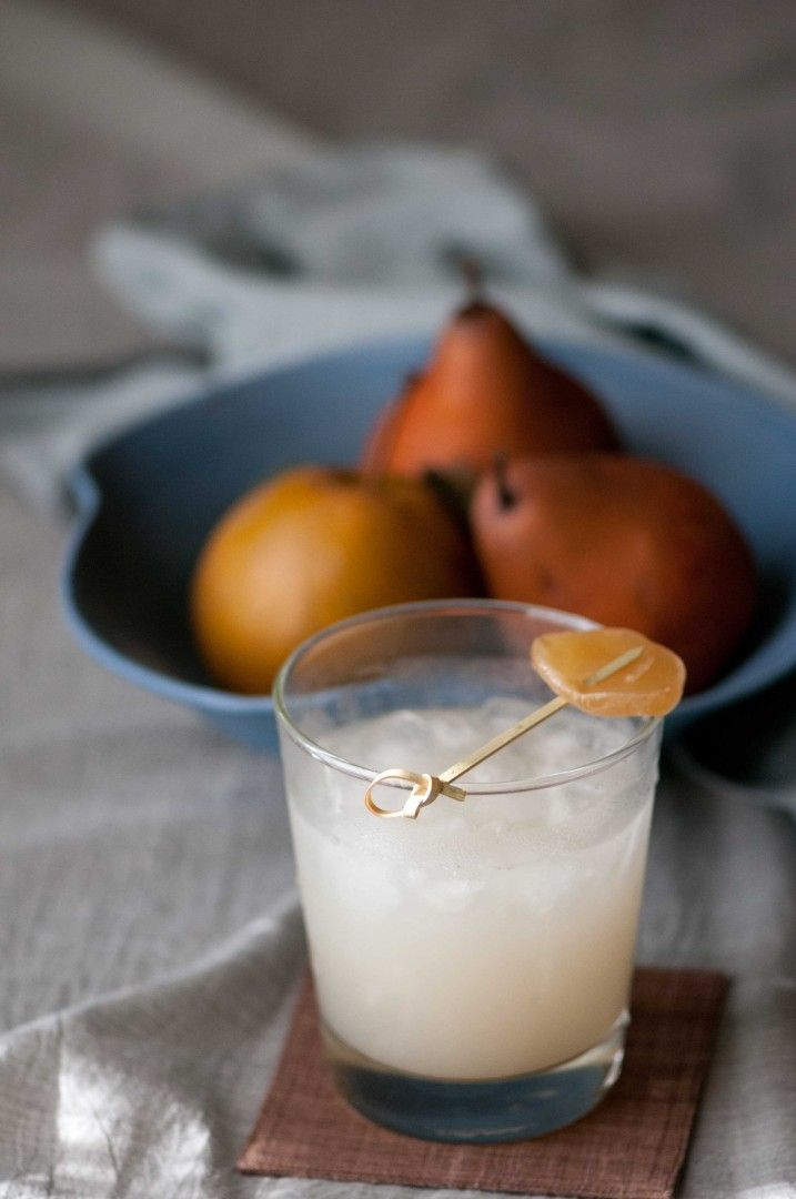 Ginger Pear Cocktail