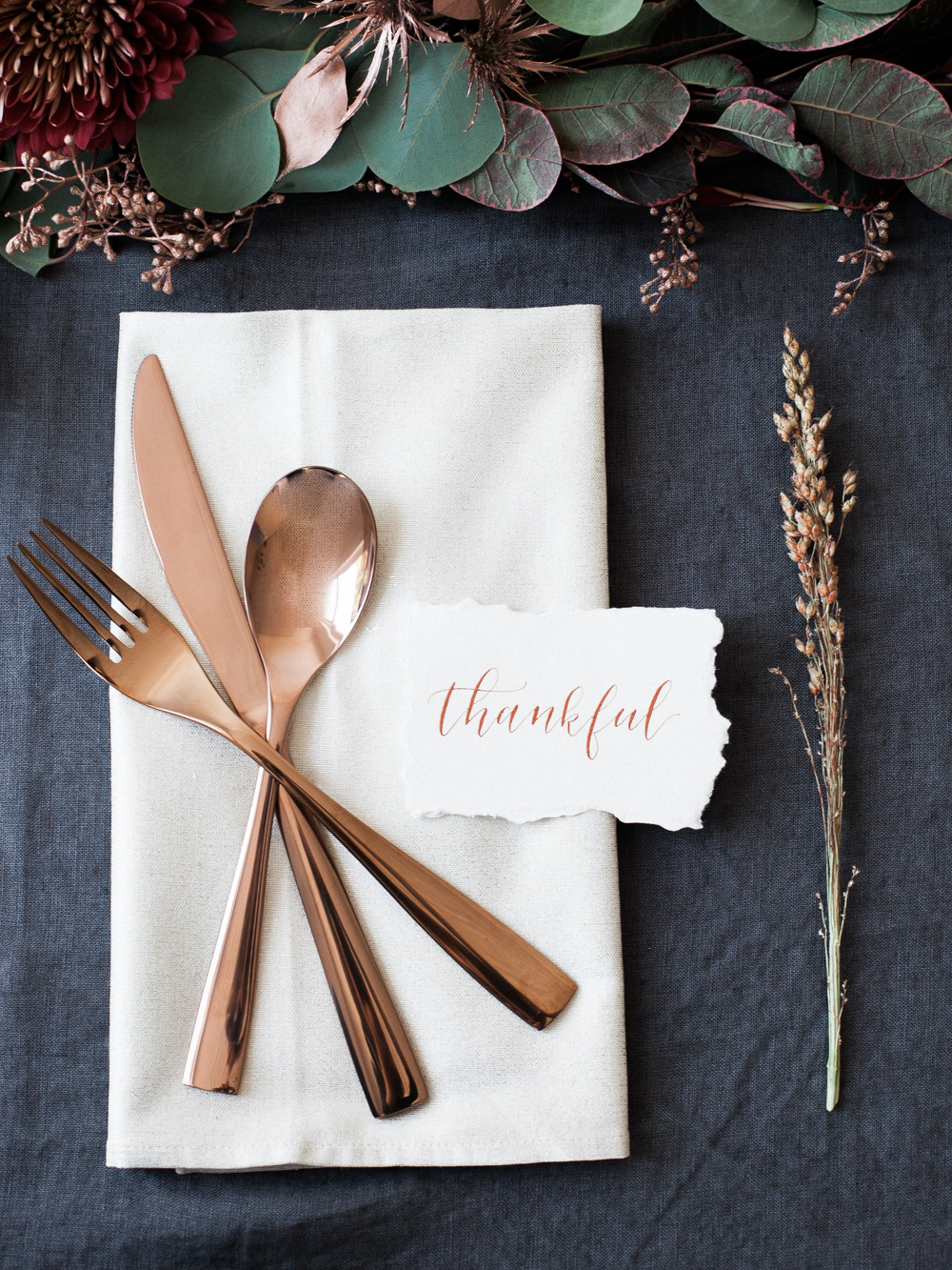 Simple & Elegant Thanksgiving Inspiration - Lindsey Brunk