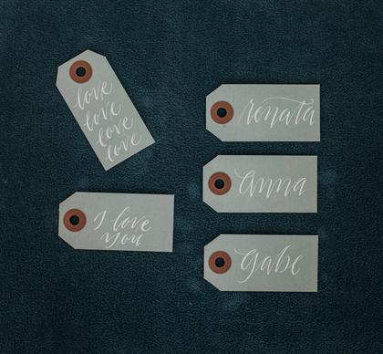 Laurel Writes: Custom Christmas Gift Tags
