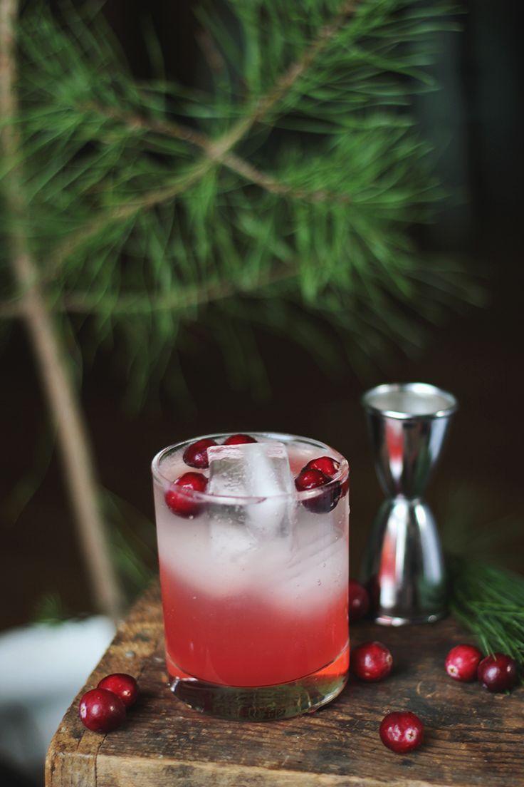 Cranberry Pine Mocktail