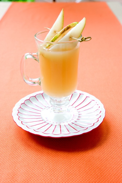 Almond Pear Mocktail