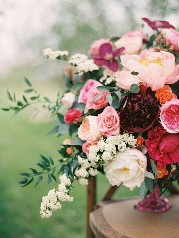 Violet Floral Design by Sara Hasstedt