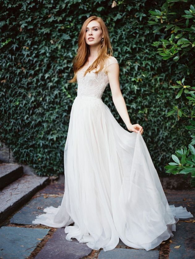 10 ethereal wedding gowns lindsey brunk event planning design paolo sebastian by erich mcveynbsp junglespirit Gallery
