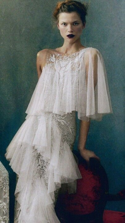 Marchesa gown via  Vogue