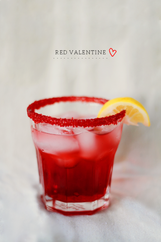 Red Valentine Cocktail