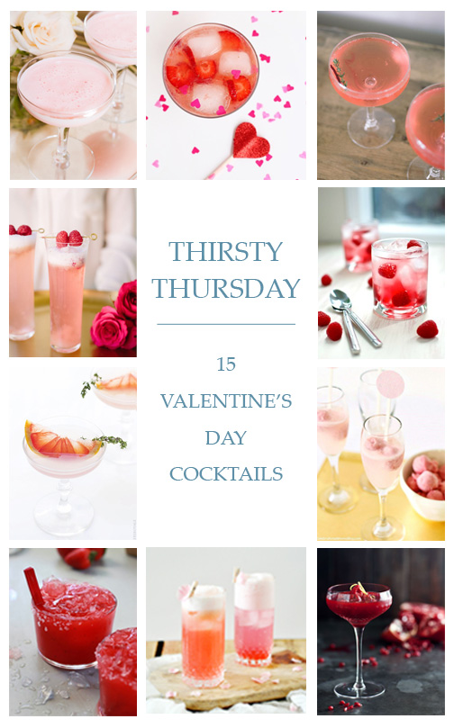 15 Valentine's Day Cocktails - Lindsey Brunk