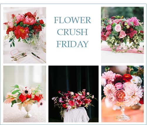Flower Crush Friday: Valentine's Day Florals