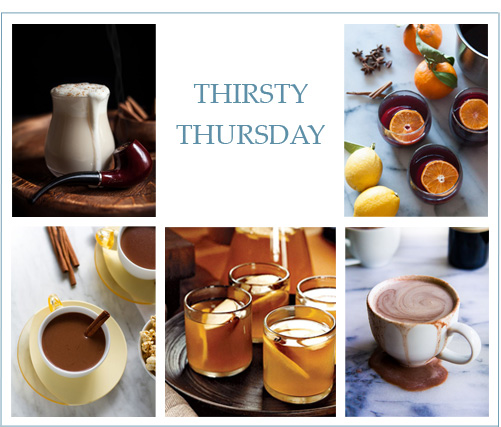Thirsty Thursday: Warm Winter Drinks