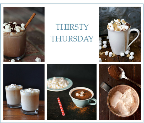 Thirsty Thursday: Boozy Hot Chocolate Recipes