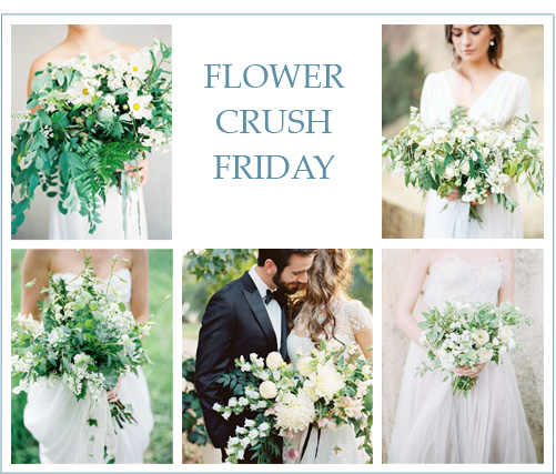 Flower Crush Friday: Spring Greens