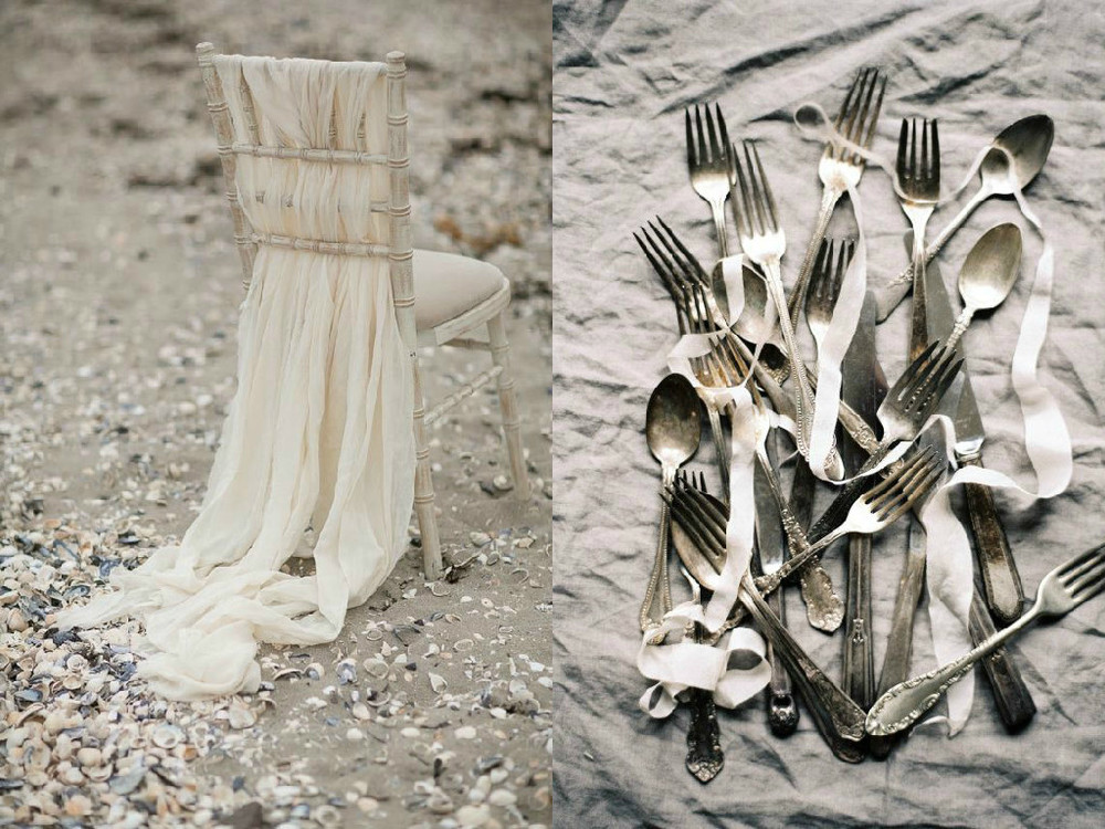 Wedding Wednesday: Ethereal Neutrals