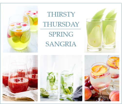 Thirsty Thursday: Spring Sangria