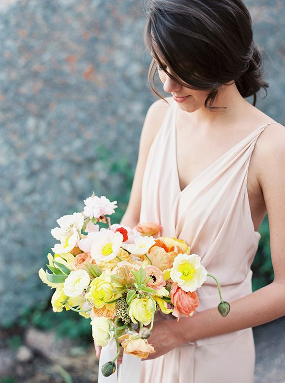 Without Wax, Katy bouquet by Jenna McElroy