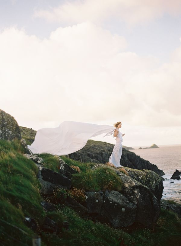 Irish Cloud Shadows Wedding Inspiration from Once Wed