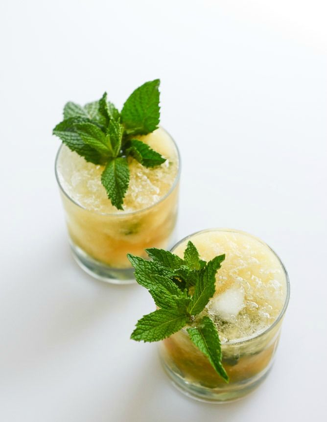 Pineapple Mint Juleps