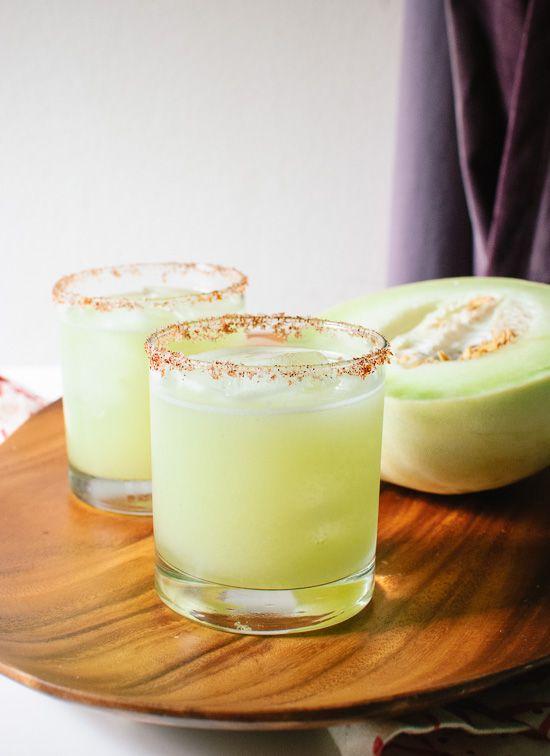 Fresh Honeydew Margaritas