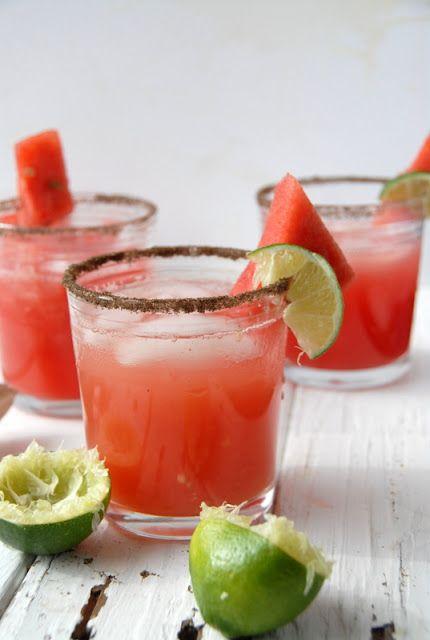 Smoky WatermelonJalapeño Margarita