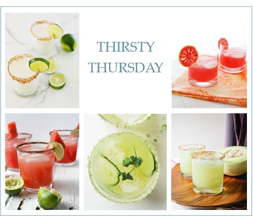 Thirsty Thursday: Spring Margaritas