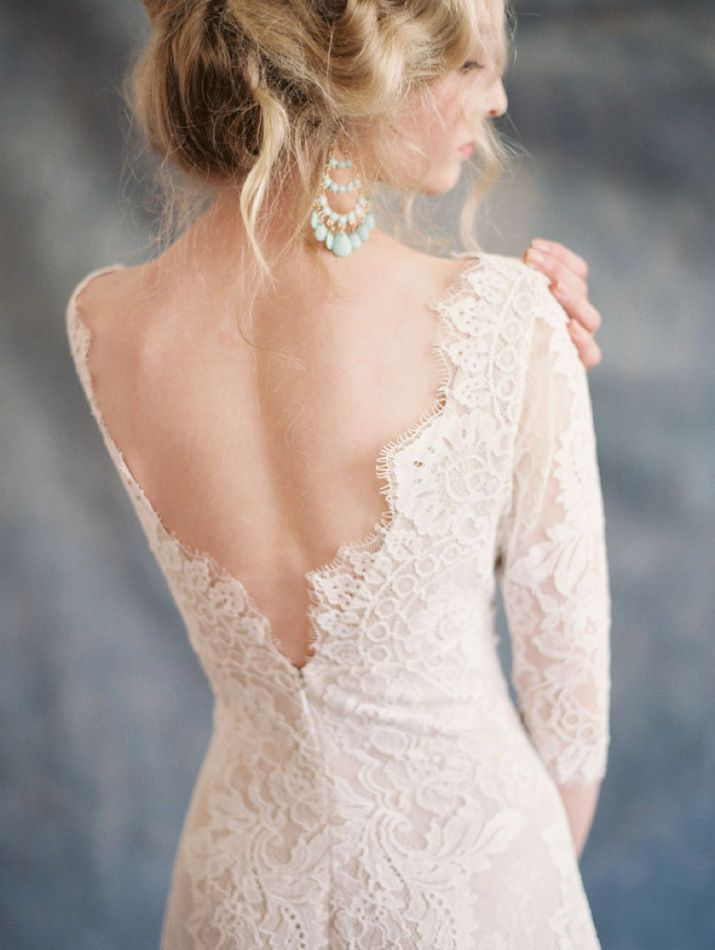 10 Open Back Wedding Gowns LINDSEY BRUNK