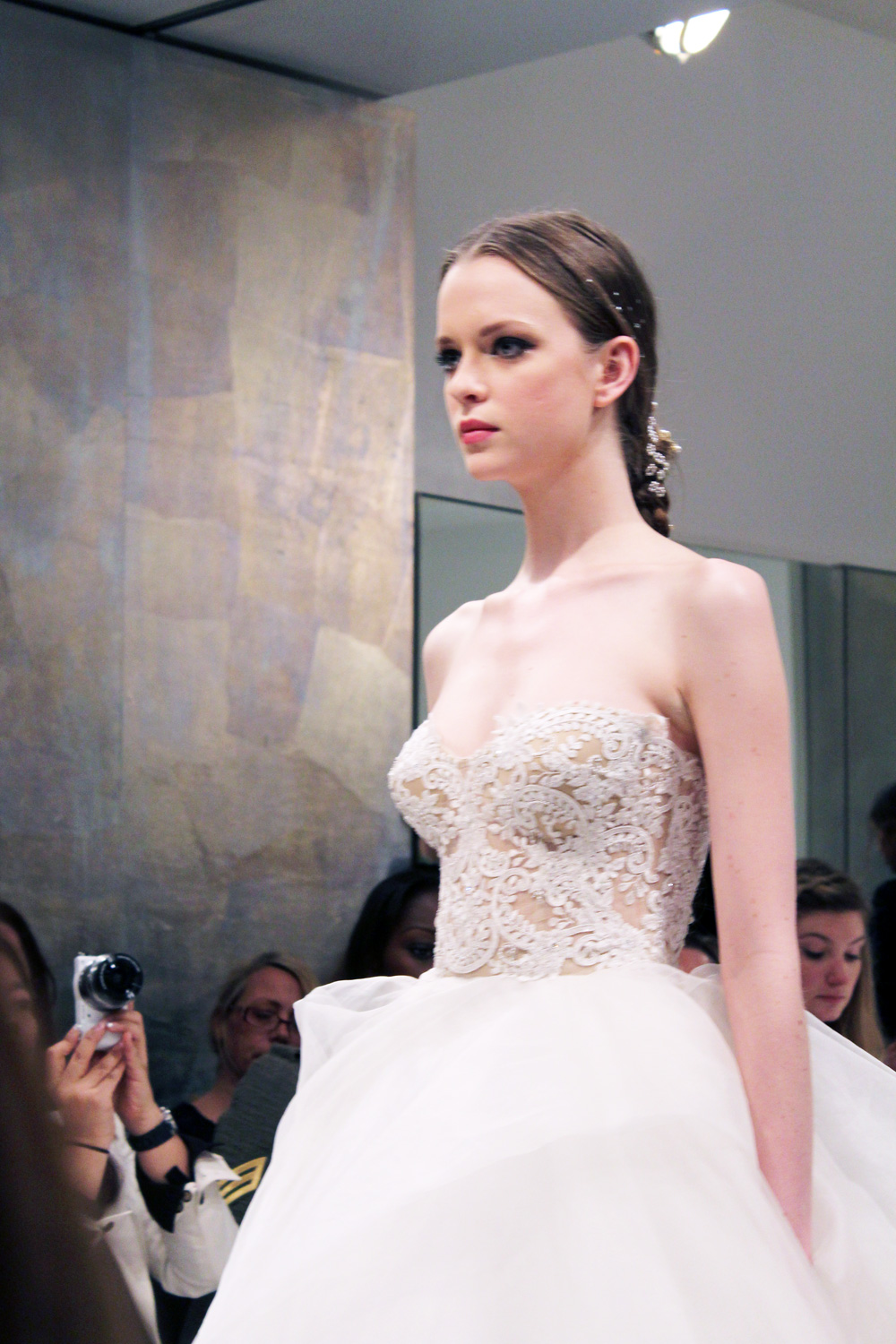 New York Bridal Market: Reem Acra