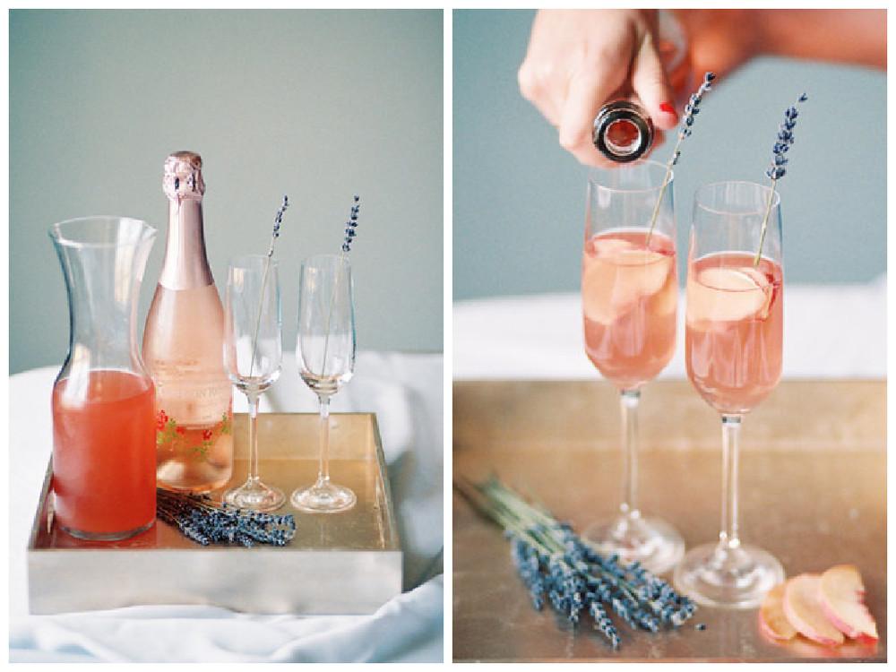 Lavender Peach Bellini - Lindsey Brunk
