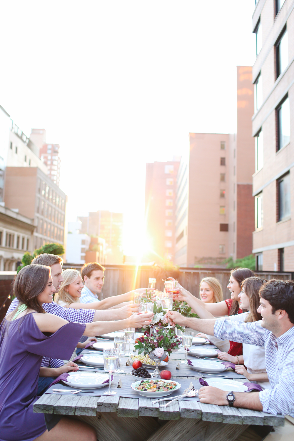 Memorial Day Rooftop Entertaining