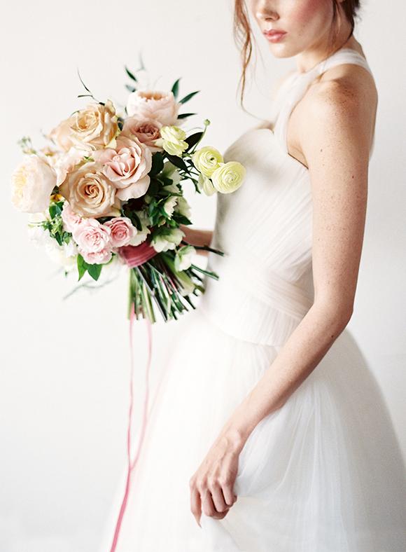 Soft Pastel Wedding Inspiration - Lindsey Brunk