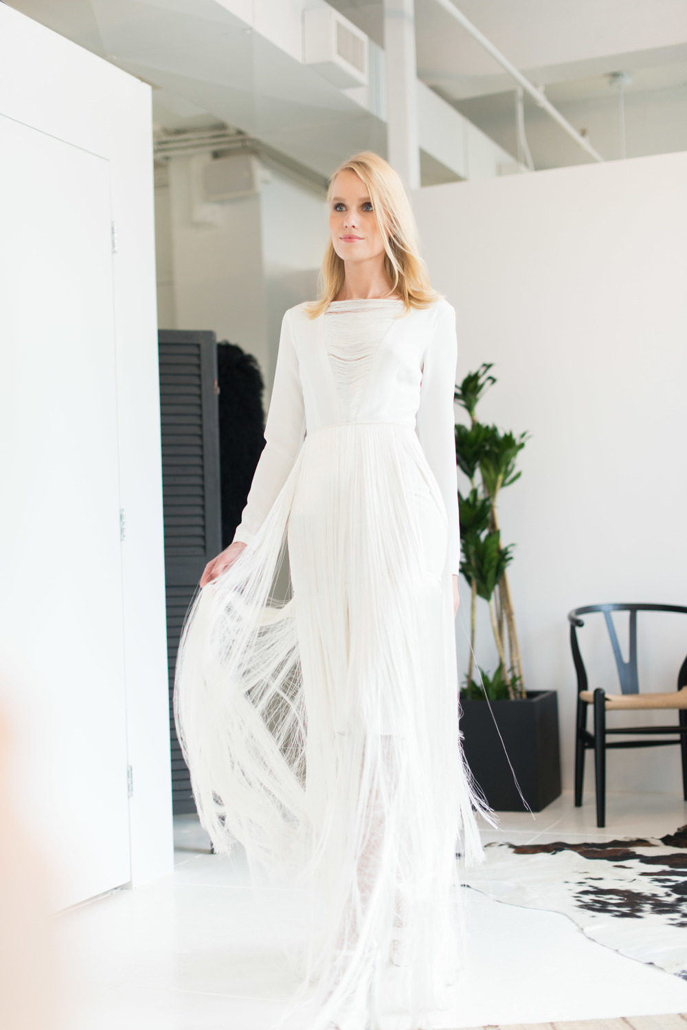 New York Bridal Fashion Week: Houghton