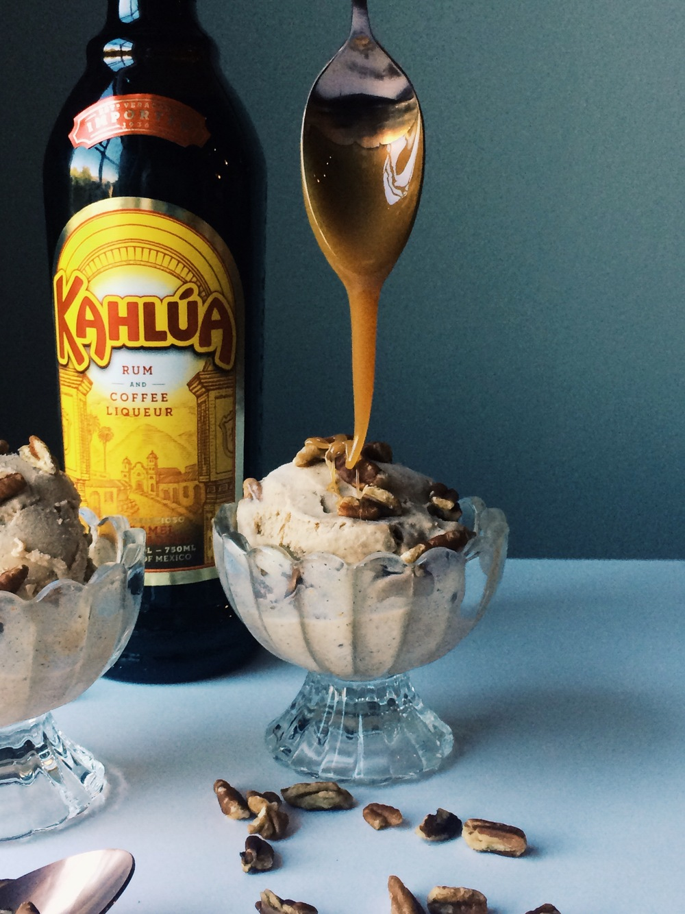 Boozy Pumpkin Spice Ice Cream - Lindsey Brunk