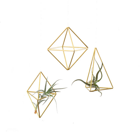 Set of 3 Modern Ornament Geometric Hanging Mobile