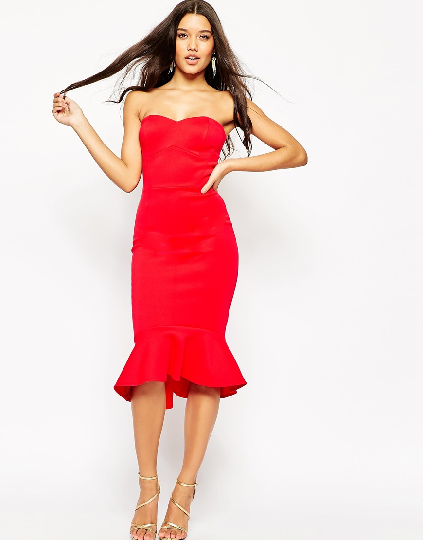 Asos Peplum Dress