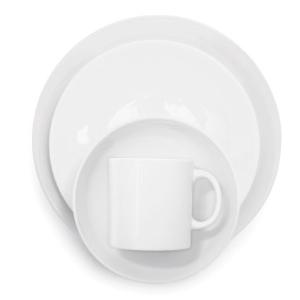 Coupe White Dinnerware