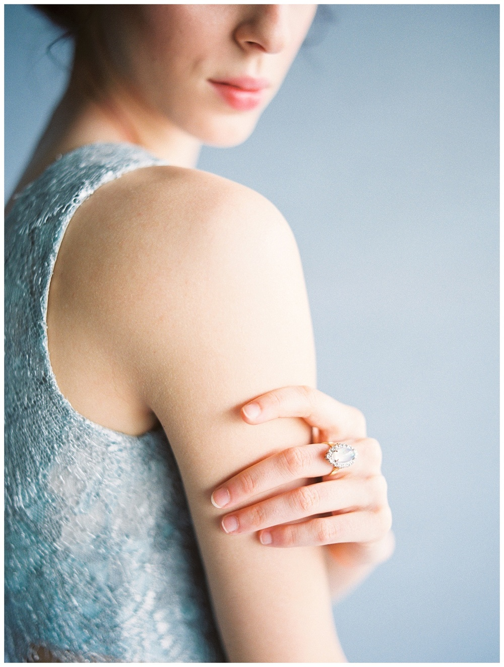 Modern Moonstone & Chartreuse Wedding Inspiration - Lindsey Brunk