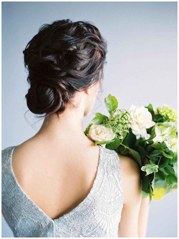 Modern Moonstone & Chartreuse Wedding Inspiration - Lindsey Brunk