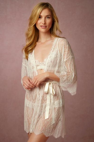 Leandra Lace Robe