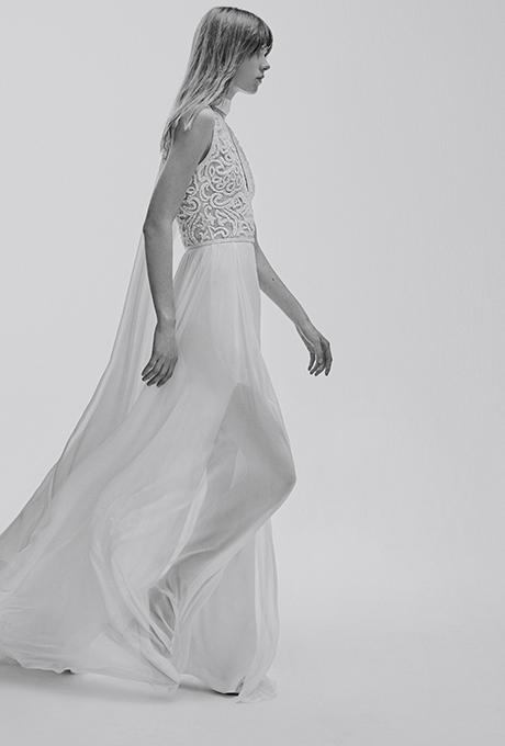 Elie Saab Bridal Spring 2017 via Brides