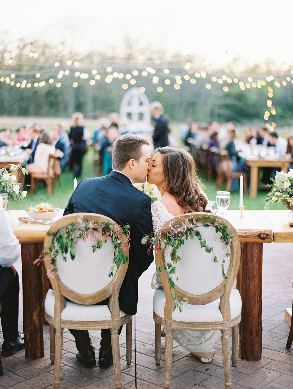 Callie & Chris: Outdoor Spring Wedding